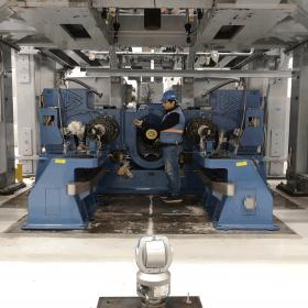 Test Makinesi Hizalama 2 (Alp Havacılık -Eskişehir)